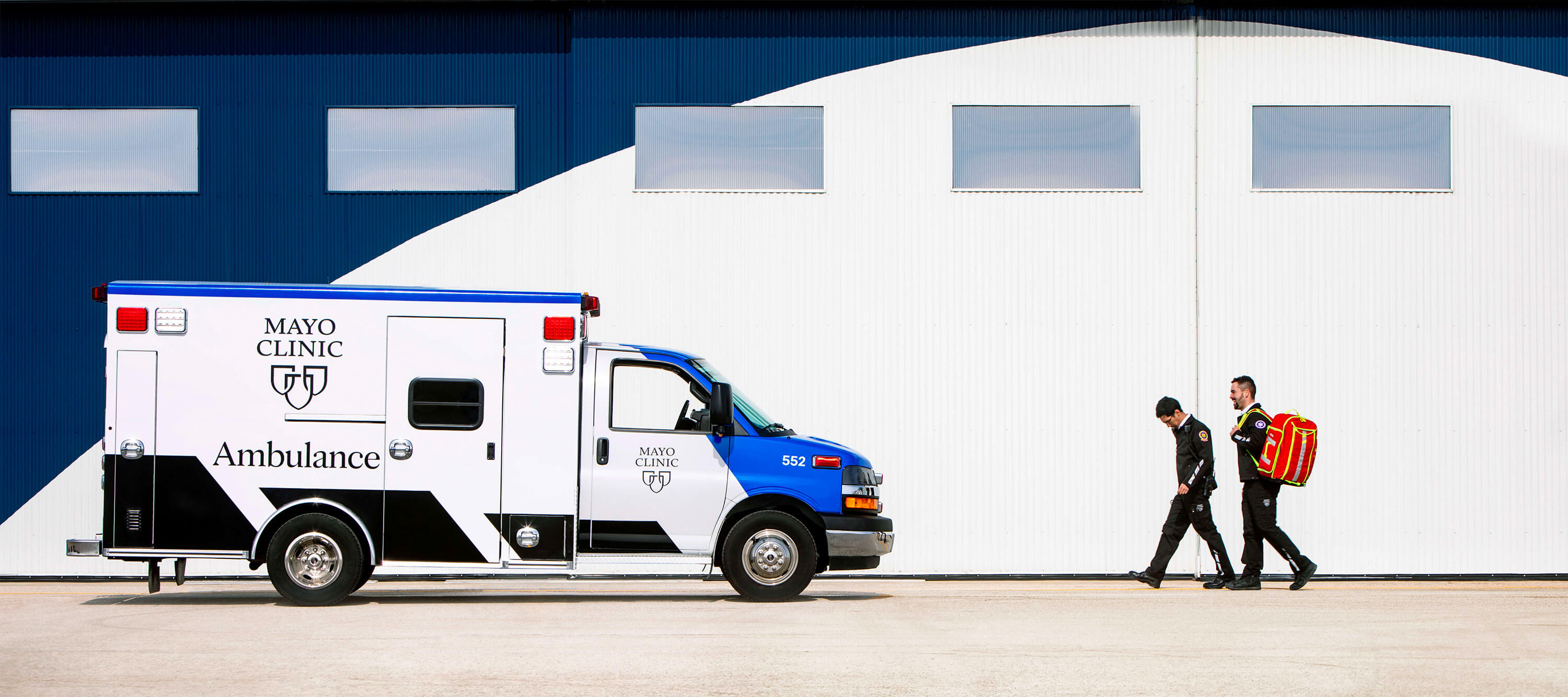 Photo of Mayo Clinic Ambulance